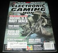 Vintage EGM Electronic Gaming Monthly Video Game Magazine NES PS 2002 issue 155