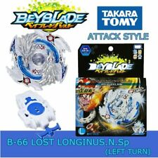 GENUINE TOMY BEYBLADE BURST STARTER SET W/ LAUNCHER B-66 LOST LONGINUS N.SP.