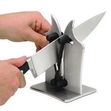 USA Kitchen Edge Knife Sharpener Sharpens Hones Standard Blade