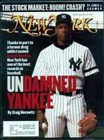 NEW YORK MAGAZINE AUGUST 12 1996 UNDAMNED YANKEE DWIGHT GOODEN
