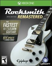 RockSmith Remastered 2014 Edition Package W/ Real Tone Cable XBOX ONE