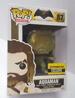 Funko Pop! Patina Aquaman Batman v Superman Justice League EE SDCC Exclusive