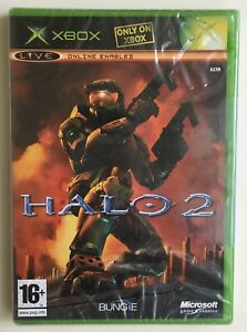 Halo 2 Xbox Original Factory Sealed Very Rare Microsoft Seal Brand New BUNGIE