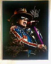 Axl Rose Guns & Roses Early Signed Autographed 11 x 14 Promo Photo  Certified