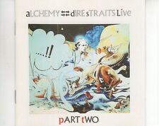 CD DIRE STRAITSalchemy live part twoGERMAN EX (A2899)