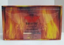 NWT AEROSMITH Box of Fire 1994 Limited Edition Definitive Aero-Collection NEW