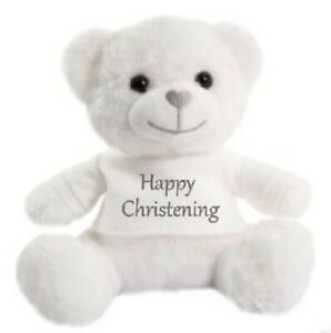 Christening ,teddy bears, personalised, super soft cuddly, baptism celebrations