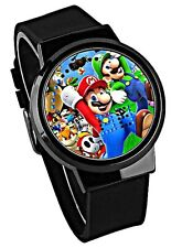 Super Mario Character LED Silicone Band Wrist Watch BOXED