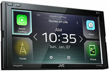 JVC Double DIN Touch Screen Car Stereo w/ Android Auto/Apple CarPlay | KWM740BT