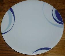 1 Kuchenteller 21 cm  Mitterteich  Blau / Graues Dekor