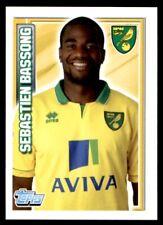 Topps Premier League 2013 - Sebastien Bassong Norwich City No. 155