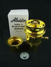 GENUINE BRASS ALADDIN BLUE FLAME BURNER MODEL 32, NEW OLD STOCK