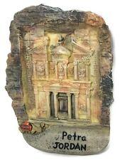 Petra JORDAN The Treasury Cathedral Resin 3d Fridge Magnet SOUVENIR Gift 077