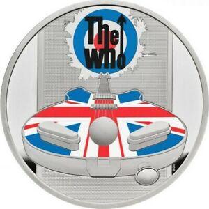 Ek // GBP 2 Ag 999% 1oz BE Royaume-Uni 2021 The Who