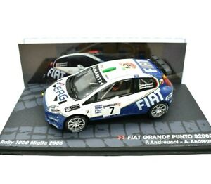 Model Car Rally Fiat Large Stitch Rallye collection IXO Scale 1:43 diecast