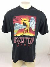 Led Zeppelin Black Graphic T Shirt Mens Size Large