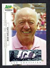 Bud Collins #BA-BC1 signed autograph auto 2013 Ace Authentic Grand Slam Tennis