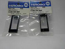 2 Pkt Hirobo 0403-236 Roll Servo Halter Aileron Servo Mount