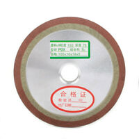 100mm Resin Diamond Grinding Wheel Abrasive Disc Sharpener Grinder For Carbide