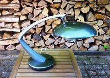 Belle lampe Fase Boomrang gris métal   1970