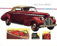 1940 Chevrolet Master Deluxe Cabriolet, Refrigerator Magnet, 40 MIL THICK