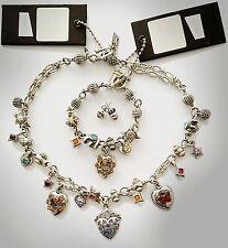 Otazu set - necklace, bracelet and earbuds - NEW