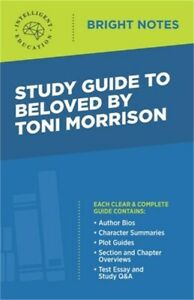 Study Guide to Beloved by Toni Morrison (Paperback or Softback)