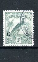 Australia - New Guinea 1932-34 1s Official OS opt FU CDS