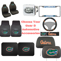 NCAA Florida Gators Choose Your Gear Automotive Accessories Official Licensed