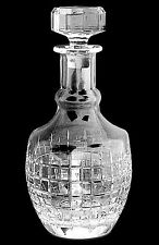 RALPH LAUREN COCKTAIL PARTY Decanter Lead Crystal  Stopper Barware Whiskey NEW
