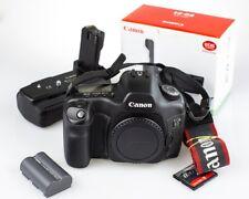 Canon EOS 5D Original Mark I 12.8MP Full Frame DSLR Camera Body and battery grip