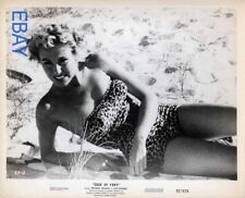 Lois Holmes busty sexy Edge of Fury VINTAGE Photo