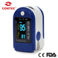 CONTEC CMS50D Finger Pulse Oximeter Blood Oxygen Spo2 Monitor OLED Ce&fda