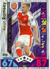 Topps Arsenal Soccer Trading Cards 2016-2017 Season