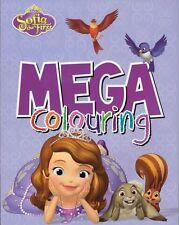 Disney Junior Sofia The First: Mega Colouring Book