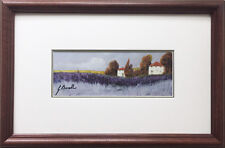"Guido Borelli ""Tuscan Lavender"" Newly CUSTOM FRAMED Hand Signed Lithograph ITALY"