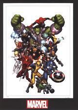 Revolution- Marvel Fine Art Limited Edition Lithograph-Avengers,GOG, Spider-Man