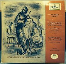 """LUIGI FERRO vivaldi violin concerto 10"""" Mint- QBLP 5019 Odeon Italy Mono Fasano"""