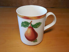"""Epoch SOMERVILLE E107 Set of 5 Mugs 4"""" Pears Fruit"""