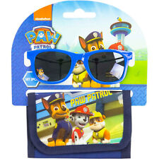 Paw Patrol Sunglasses and Wallet Set with Chase, Marshall and Rubble