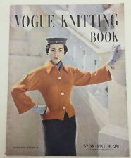 1951 Vintage Vogue Knitting book no. 38