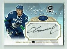 07-08 UD The Cup Scripted Swatches  Markus Naslund  /25  Auto  Patch