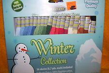 SULLIVANS WINTER COLLECTION FLOSS, 36 SKEINS, NEW