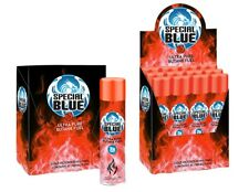 96 Cans - Butane Gas Special Blue 7X refined. Lighter Refill Wholesale Fuel