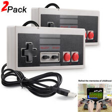 2X NES Classic USB Game Controller Joypad Gamepad For PC & Mac Windows Computer