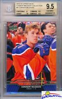 2015/2016 UD Connor McDavid Collection #5 ROOKIE BGS 9.5 GEM MINT Oilers !!