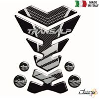 ADESIVO SERBATOIO RESINA NERO ARGENTO FOR HONDA 700 XL V Transalp ABS 2008-2013