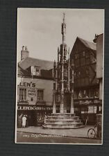 Winchester. City Cross. Shops. Confectioner. Vintage Sweetman Postcard zd.23