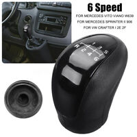 6 Speed Gear Stick Shift Knob For Mercedes Benz Vito Viano Sprinter VW  ~