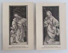 2 x Kunst-Postkarten ~1920 Künstler Matthias Grünewald Motive Religion Kirche